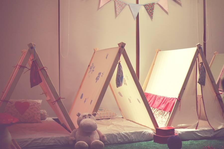 camas para quartos de criança / Foto Lovely Tents