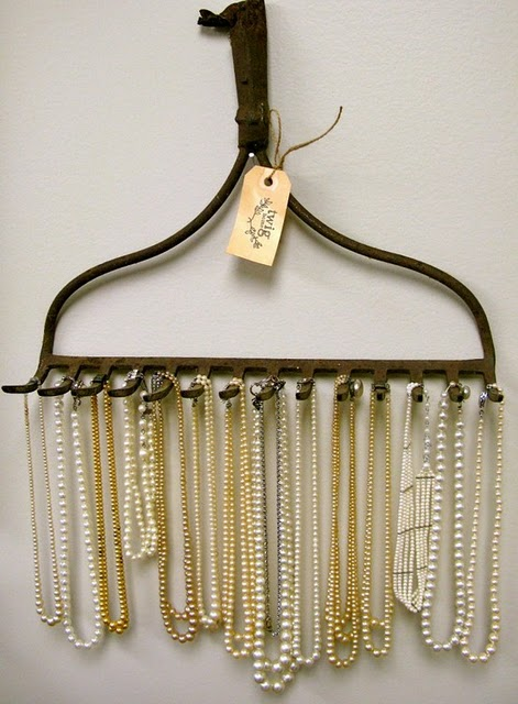 como organizar bijuterias / Foto: bedifferentactnormal.com