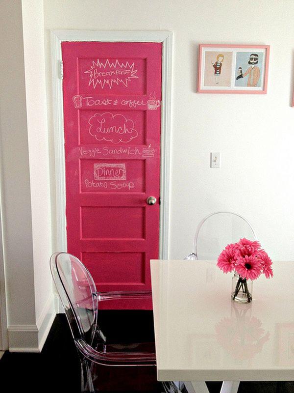 como customizar uma porta / Foto: homedit.com