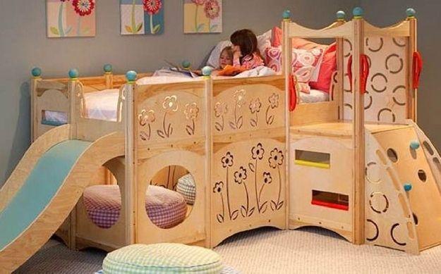camas para quartos de criança / Foto: buzzfeed.com