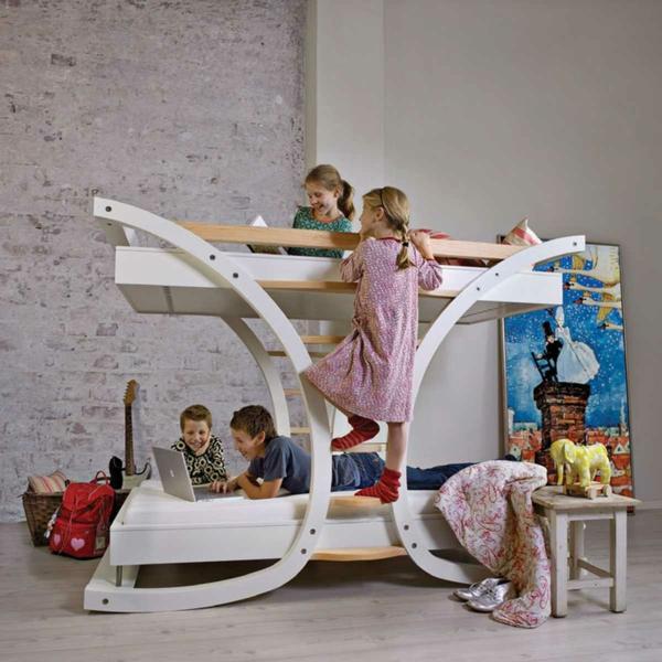 camas para quartos de criança / Foto: gouber.com