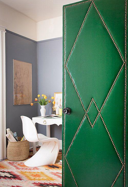 como customizar uma porta / Foto: domainehome
