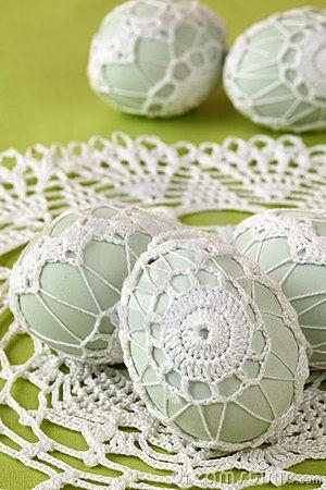 como usar cascas de ovos na decoração  / Foto: dreamstime.com