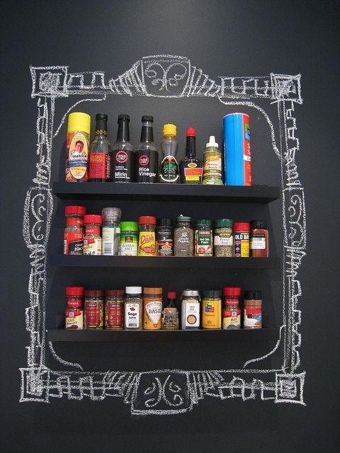 desenhos de giz na decoração / Foto: flickr.com