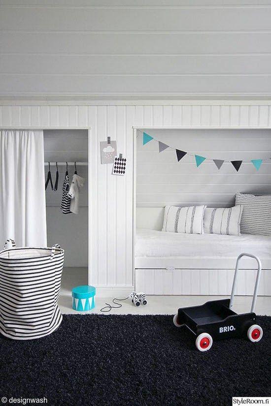 camas para quartos de criança / Foto: mommo-design.blogspot.it