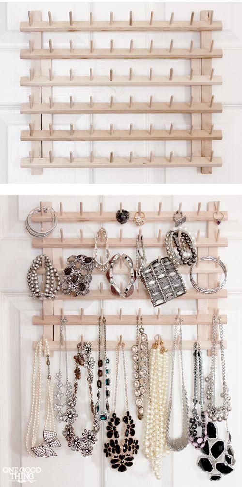 Como organizar bijuterias / foto: onegoodthingbyjillee.com