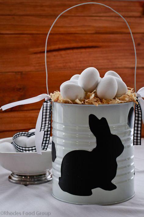 como usar cascas de ovos na decoração  / Foto: rhodesquality.com