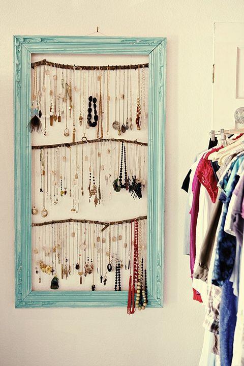 como organizar bijuterias / Foto SHELTERNESS.COM