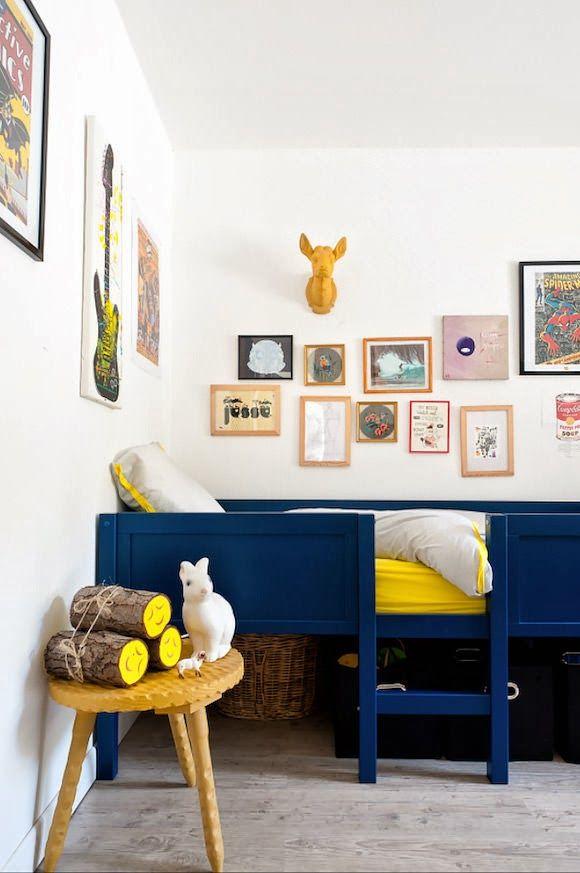 camas para quartos de criança / Foto: thebooandtheboy.com