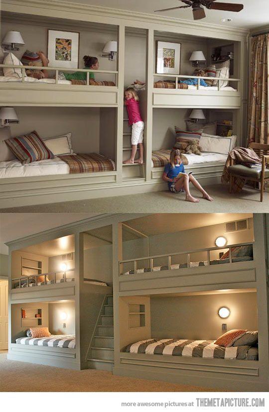 camas para quartos de criança / Foto: themetapicture.com