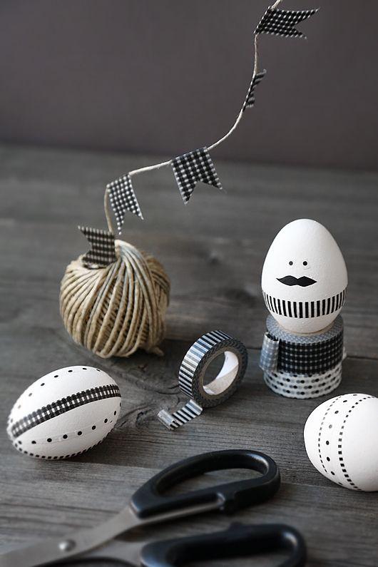 como usar cascas de ovos na decoração  / Foto: trendenser.se