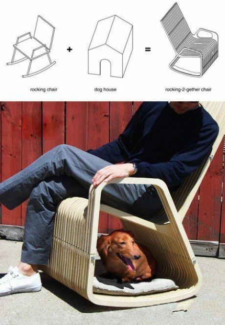 móveis para pets - Foto: funnycatss.com