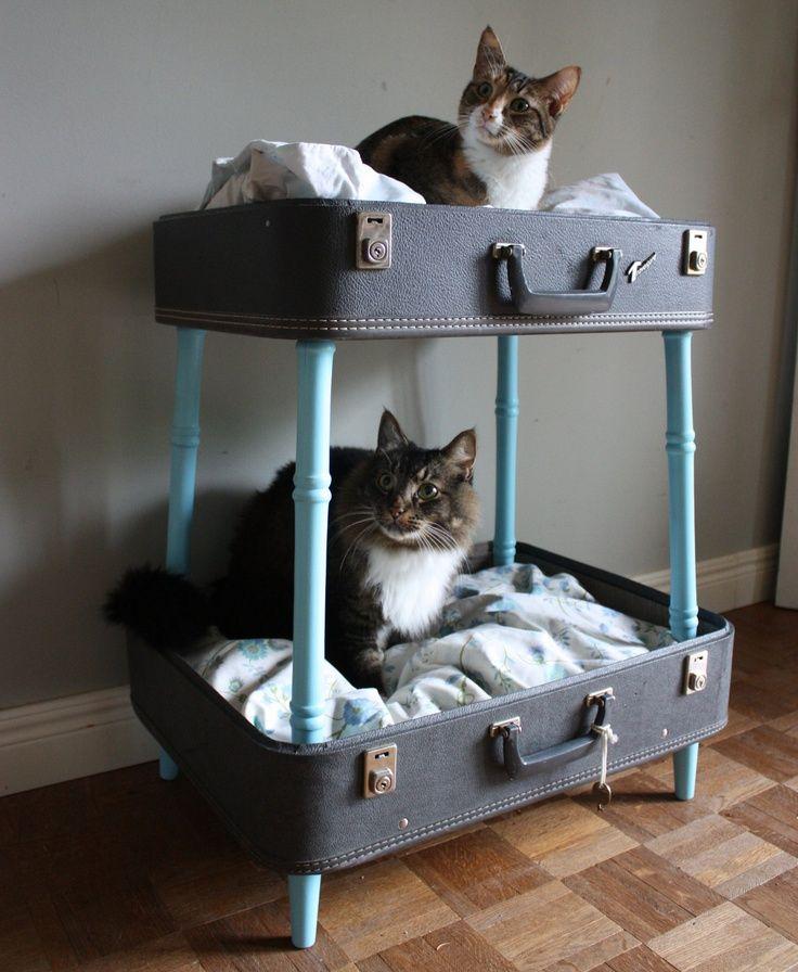 móveis para pets - Foto: vintage-retro-design.com